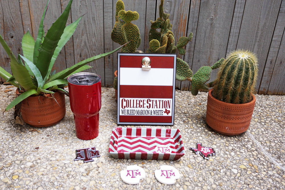 Collegiate Gear   We carry a variety of collegiate gear. Our top styles in college apparel and accessories are perfect for the avid sports fan.