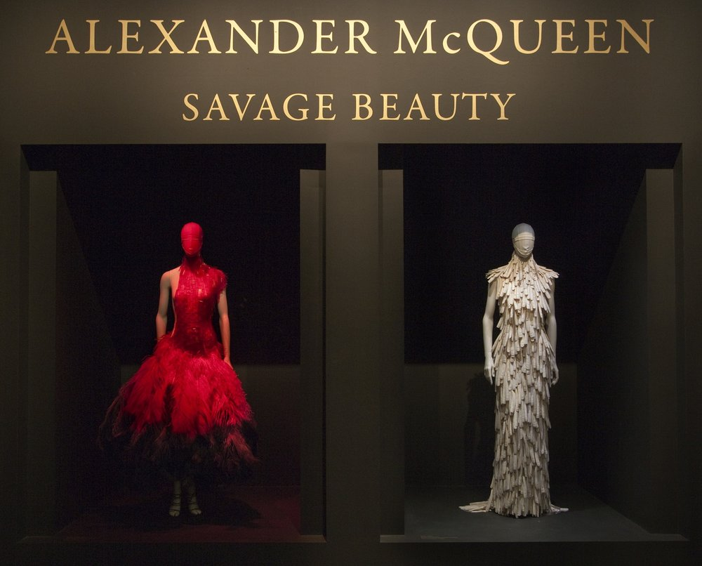 Photo: © The Metropolitan Museum of Art, Gallery View of Alexander McQueen: Savage Beauty, 2011