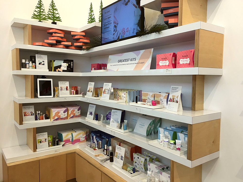 My favorite sections of the store is the skincare department, and the curated selections like kits and bestsellers.