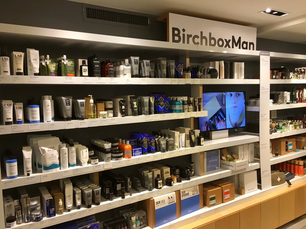 Great selection at Birchbox Man that I am yet to convince my husband to try out. I guess everybody doesn't share my enthusiasm for using 30+ skincare products.