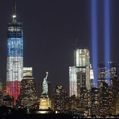 We will never forget #911🇺🇸 #terrorhasnoplacehere #loveistheanswernothate #GodblesstheUSA