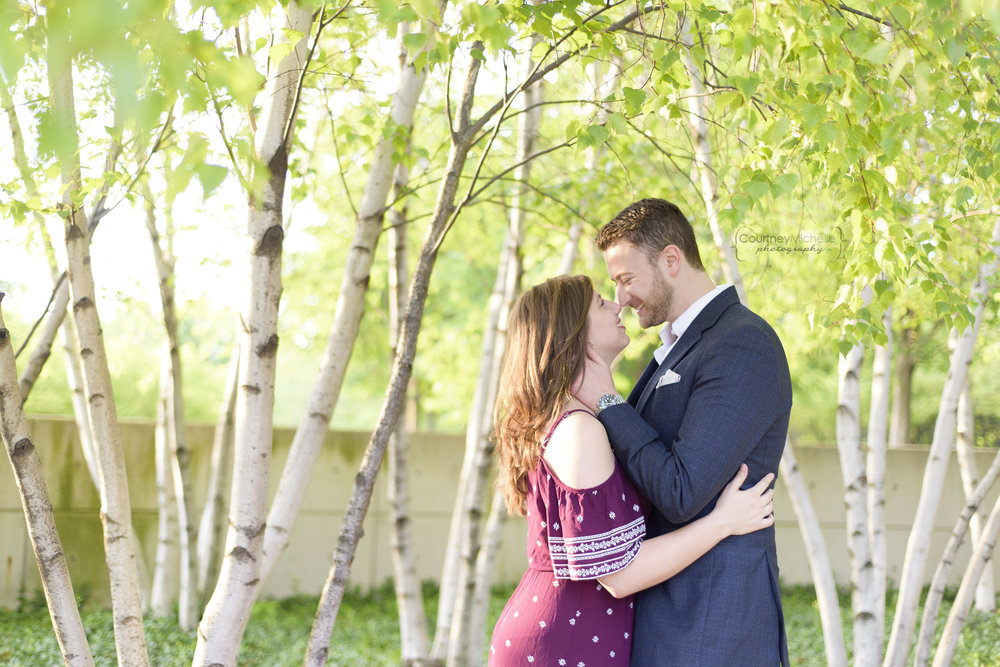 chicago-engagement-museum-campus-couple-kissing-birch-trees-engagement-photography-by-courtney-laper.jpg