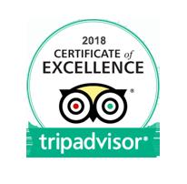 MLK 2018 TripAdvisor Certificate of Excellence