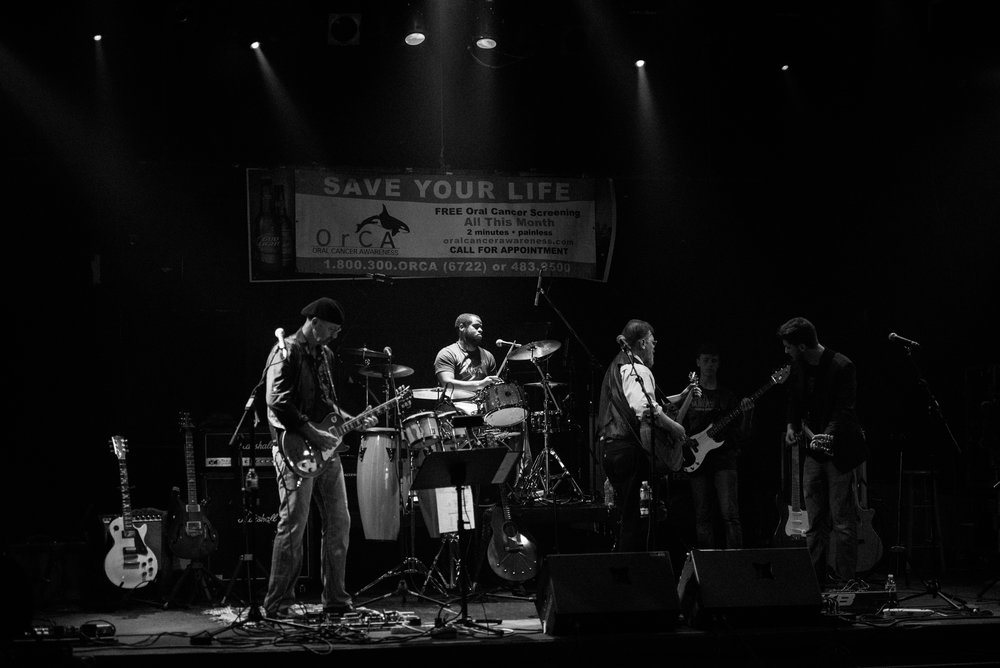 Photo of OrCA Blues Band in 2015