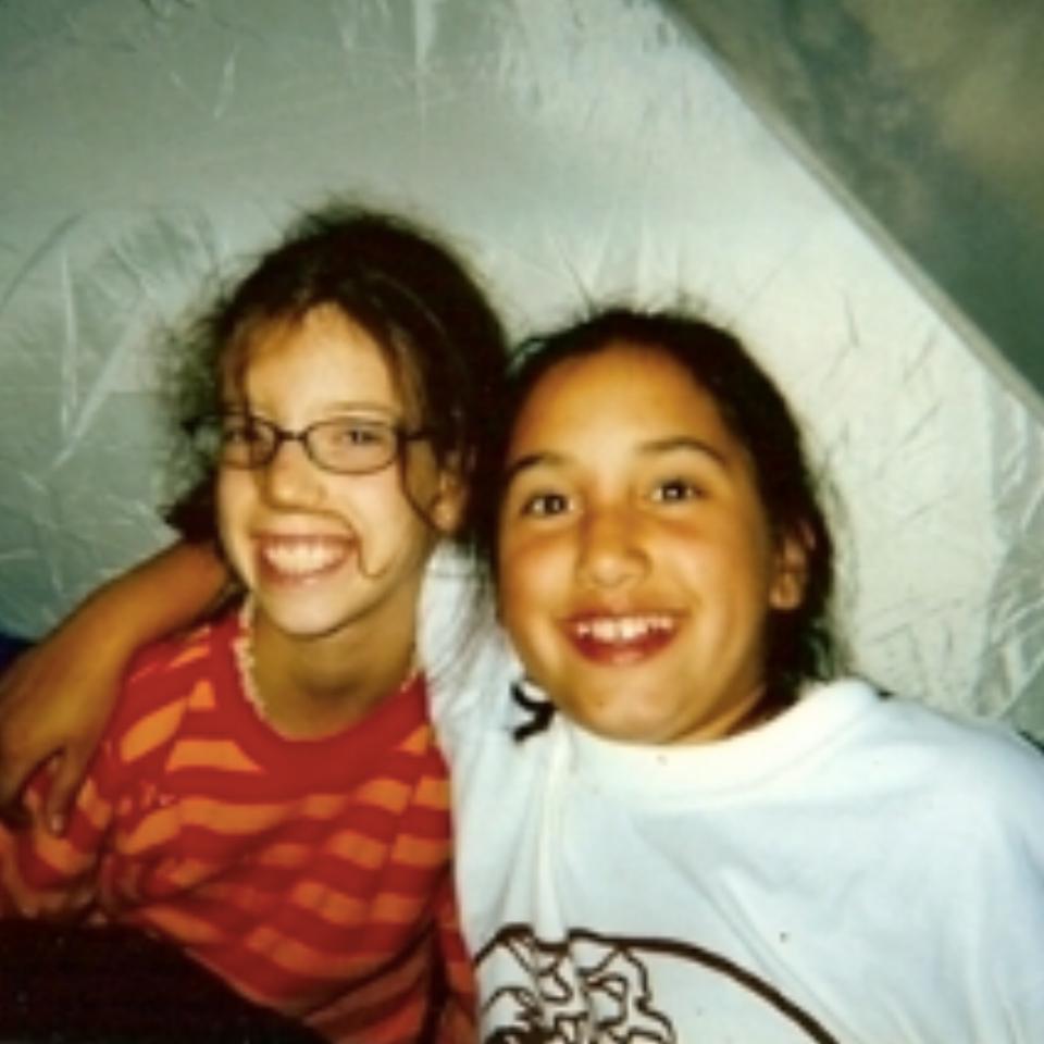 Julia as a camper