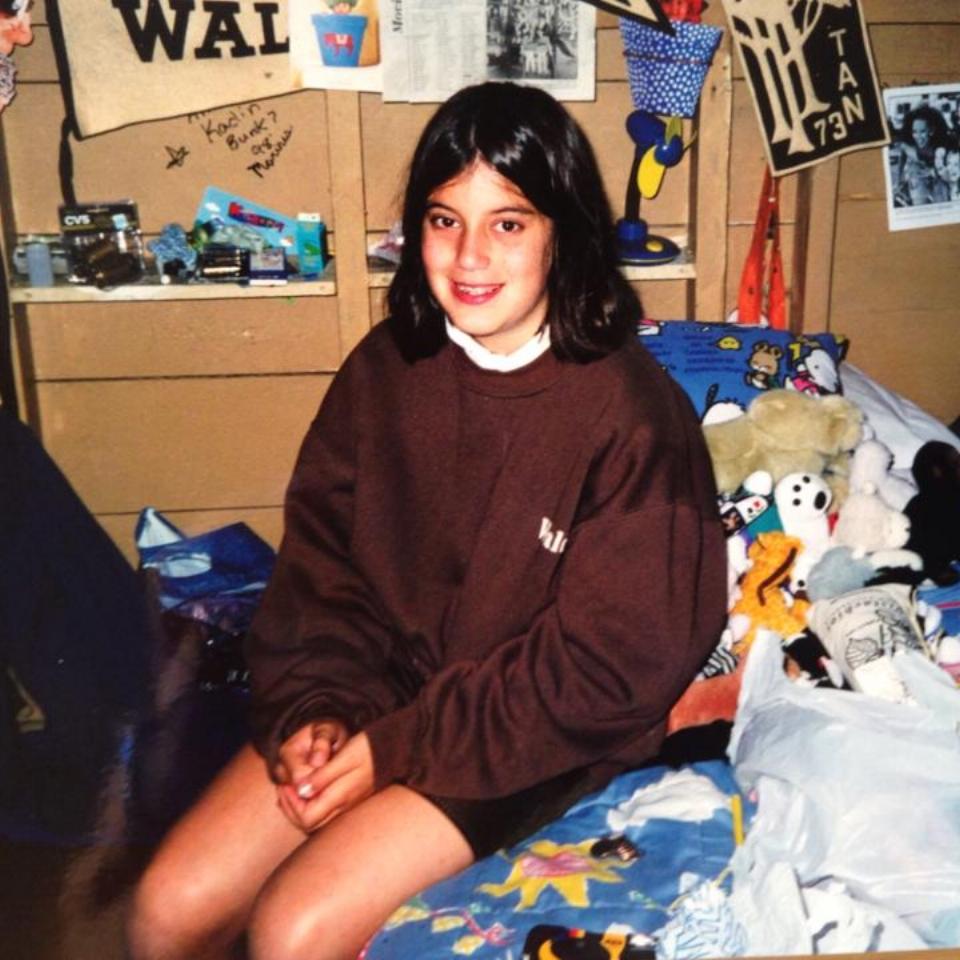 Allison as a camper.