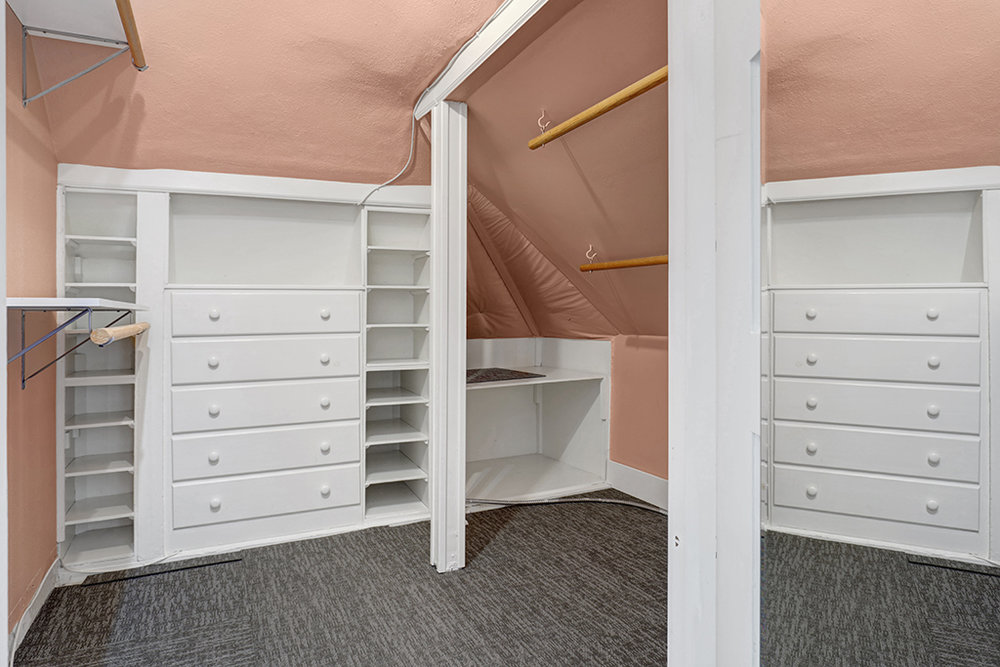 Your giant walk-in closet!