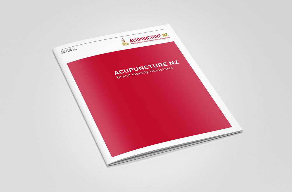 Acupuncture NZ Brand Identity Guidelines Design