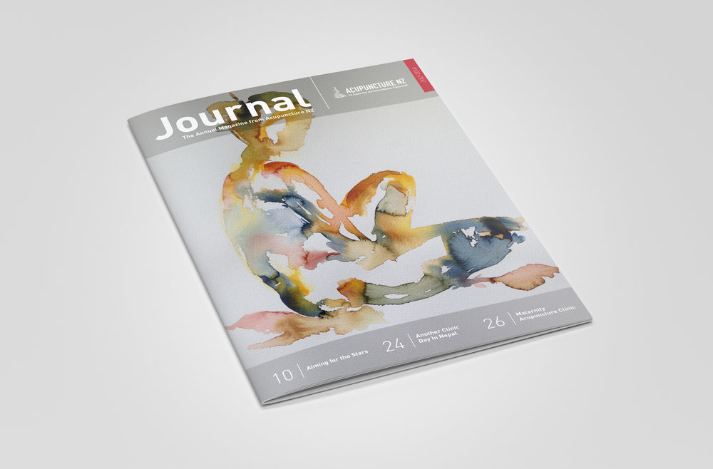 Acupuncture NZ Journal Cover Design