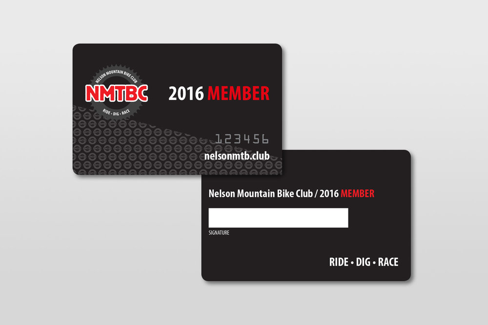 NMTBC Membership Card Design