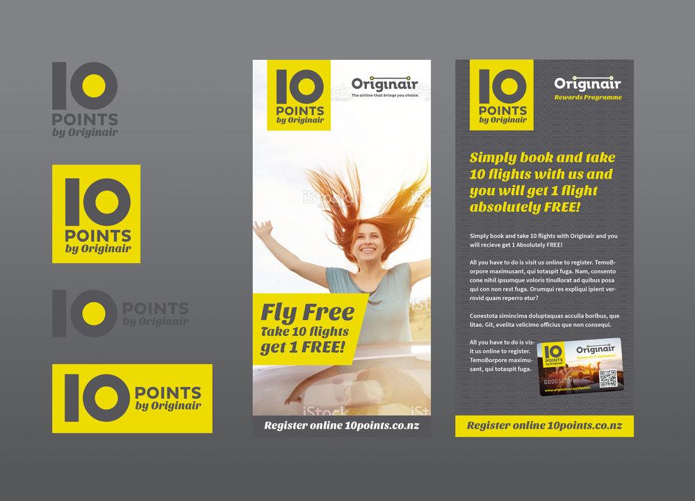 Originair 10 Points Rewards Program