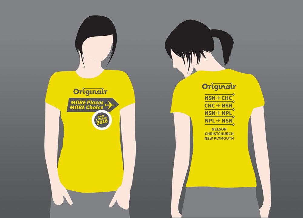 Originair More Places More Choice T-Shirt