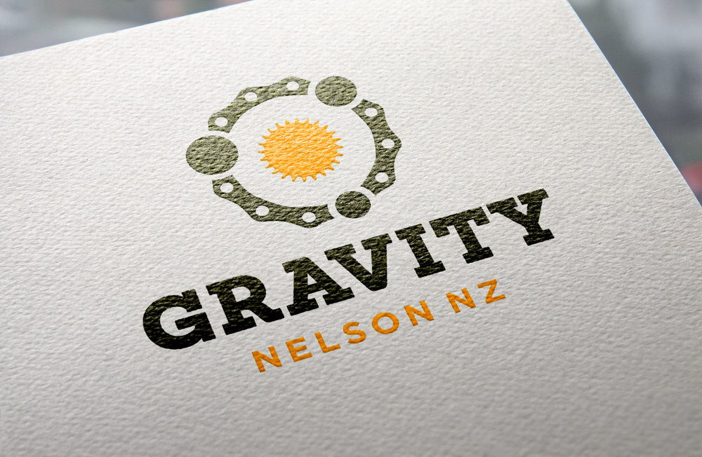 Gravity Logo – 2 Colour Version