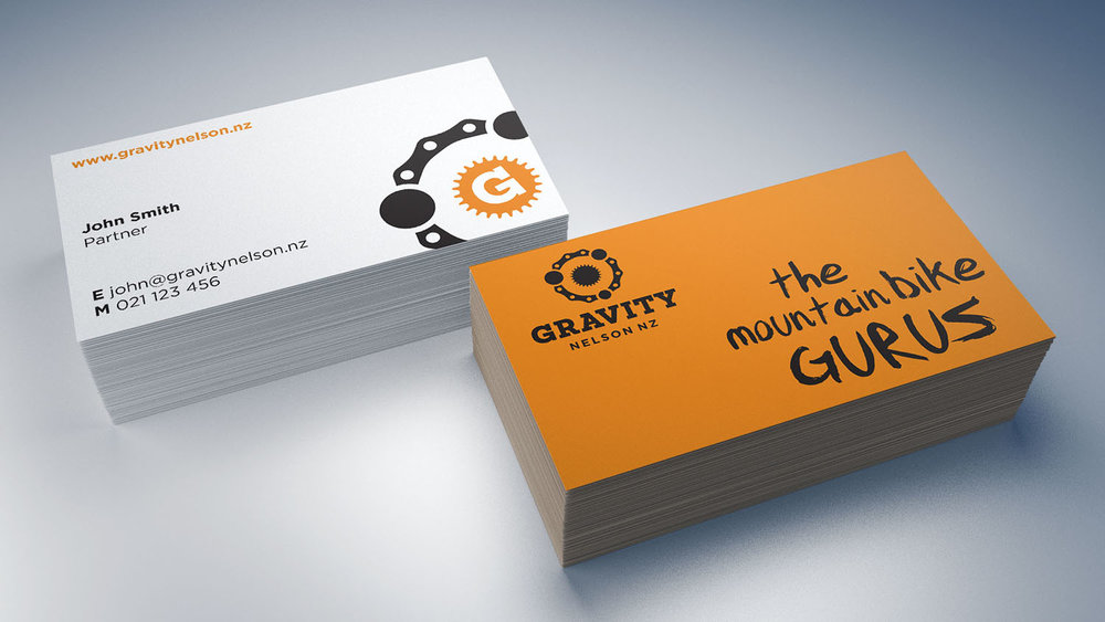 Gravity Business Card Designs