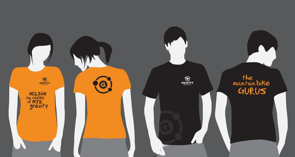 Gravity T-Shirt Designs