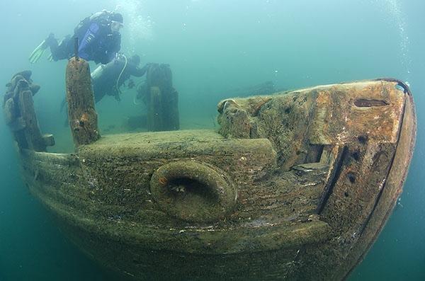 #2 Wreck Dive Lake Superior Munising MI -