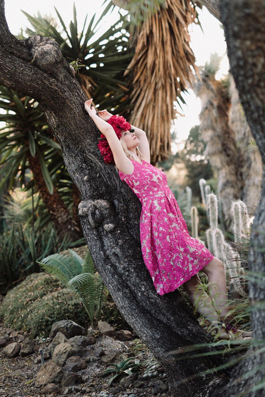 Pink Portrait Walnut Creek