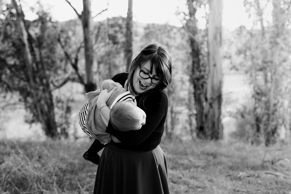 Fun times with Mom - portrait photography by Caroline Alexander Photography