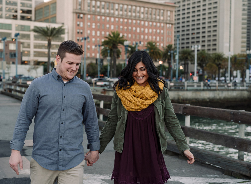 Engagement Photographs in San Francisco by Caroline Alexander Ph