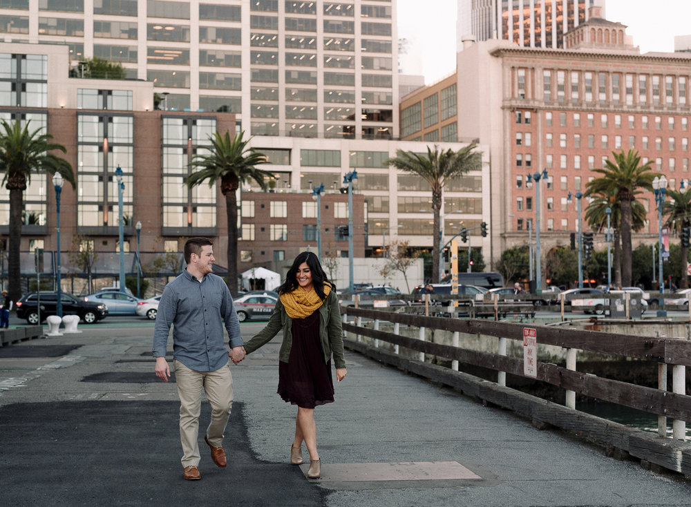 Engagement Portraits in San Francisco, California