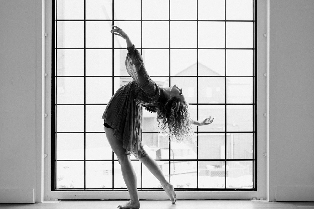 Dancing Senior Portrait