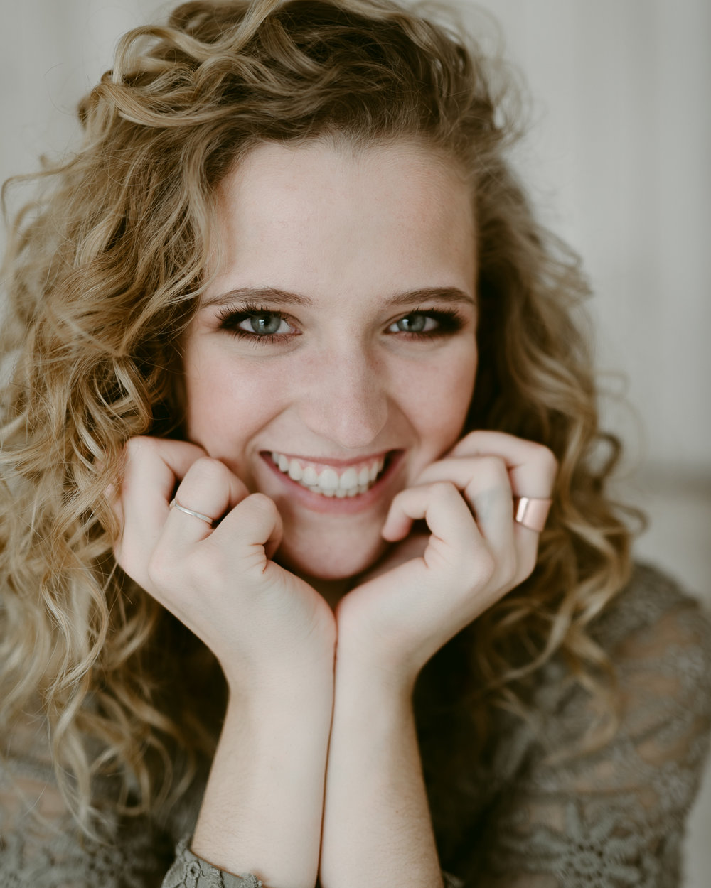 Cute Laughing Senior Portrait Photography