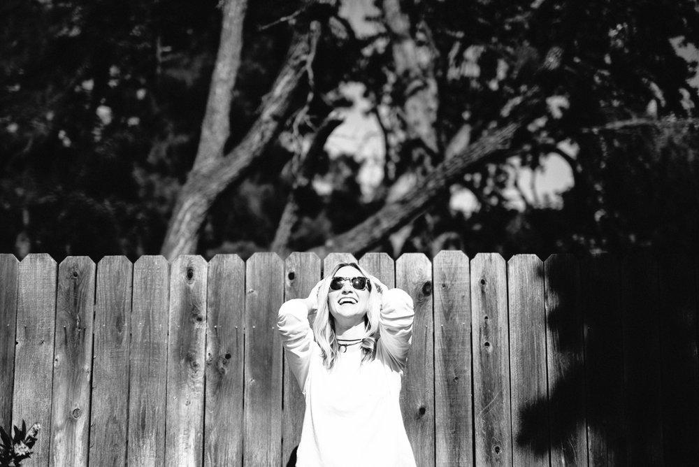 Test Shoot for High School Senior Photography by Caroline Alexan