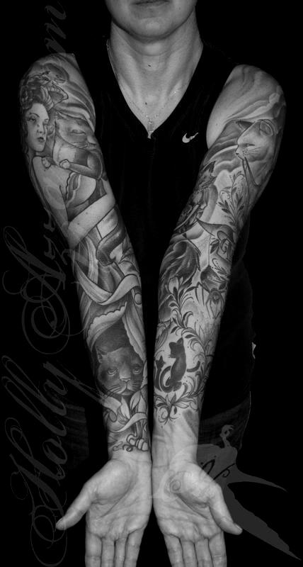 Arm And Leg Sleeve Tattoos Always Forever Tattoo Studio