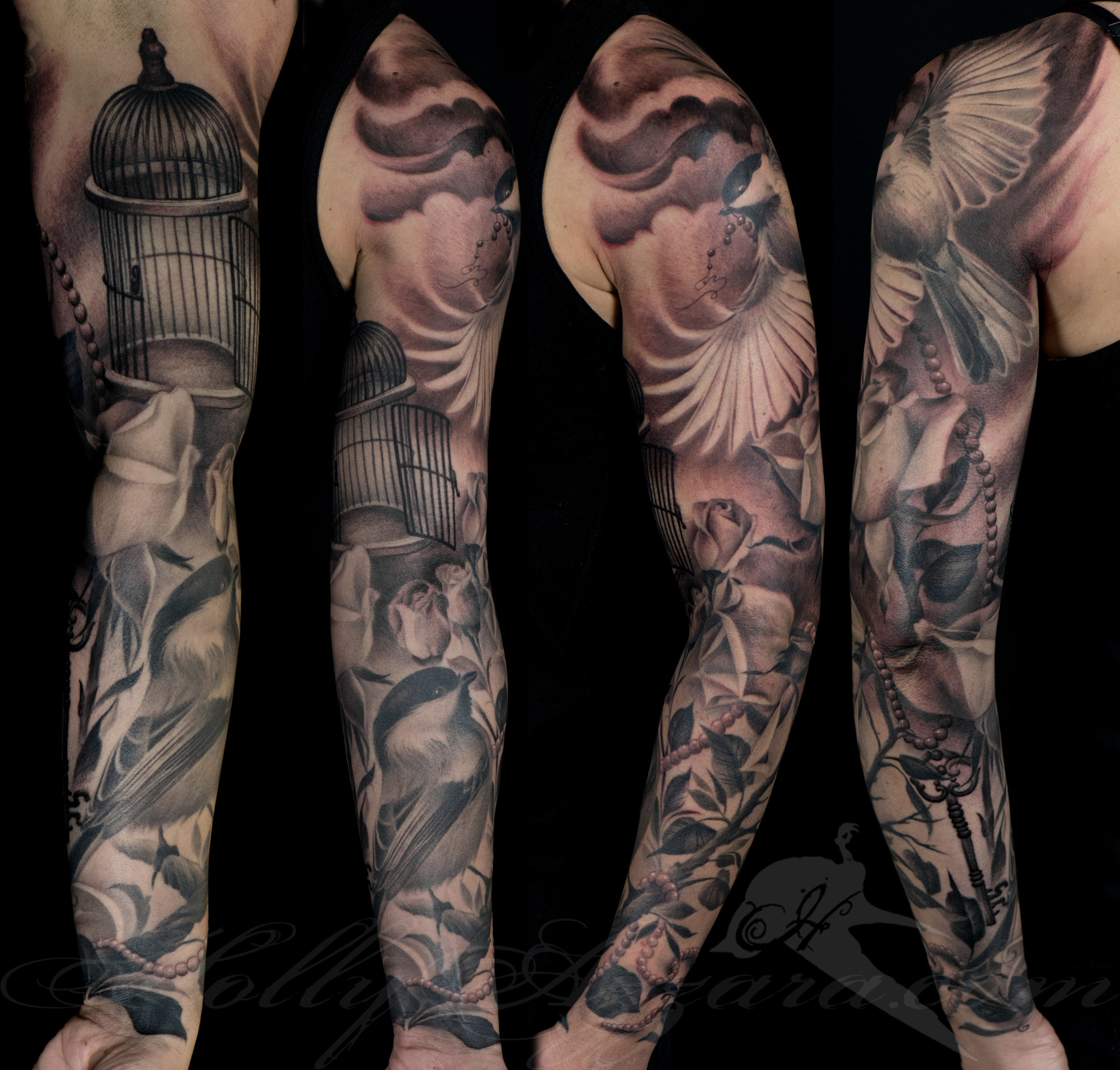 aa0291bb6 Arm and Leg Sleeve tattoos — Always & Forever Tattoo Studio ...