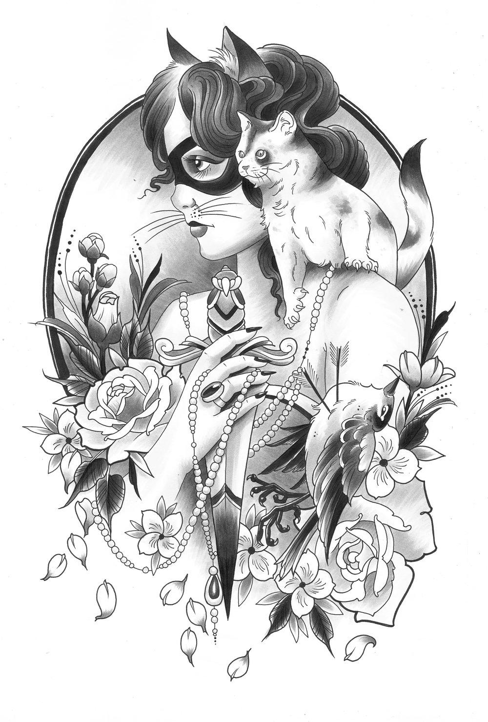 Holly Azzara Cat Lady dagger design.jpg