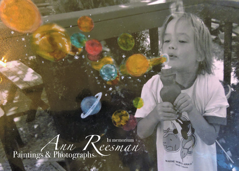 Our friend Ann Reesman passed away suddenly on November 28, 2018 in San Francisco. Ann proudly served in the Air Force before returning to California and earning her BFA from California State University, Chico. After moving to San Francisco, Ann immediately became very active in the Veteran Artist Community, offereing workshops and hosting exhibits at the SF War Memorial Veterans Building and the Veterans Community Media Center. She was an active member of AmVets; and she actively volunteered  her time for ArtSeed's Children's programs, where she greatly enjoyed teaching the next generation of artists. She taught us all the value of art and life and we honor her in a showing of her works.