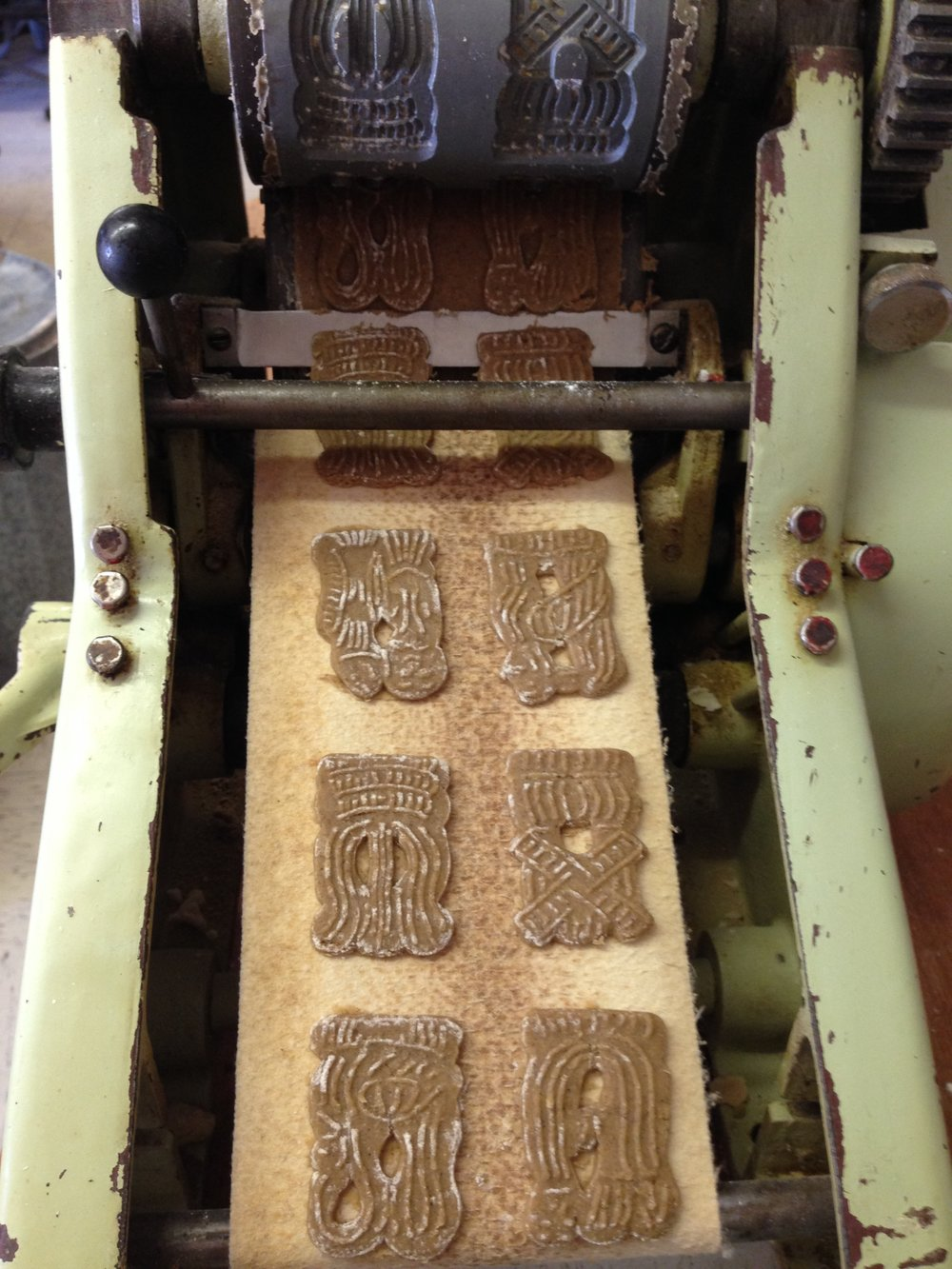 Speculaas Cookie Machine
