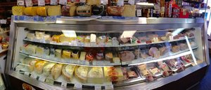 Our deli case.
