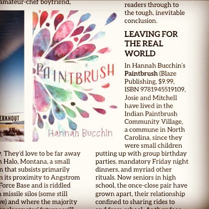 Thanks for the review, @indiepicksmag ! Check out their November issue to see the nice things they have to say about Paintbrush 📚 . . . #indiepicksmag #indiepicks #blazepublishing #authorsofinstagram #ireadya #yalit #yaliterature #booknerdigans