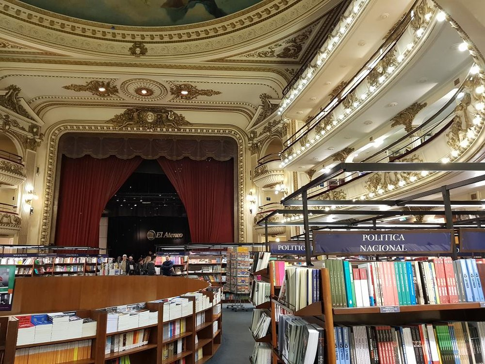 The El Ateneo bookstore