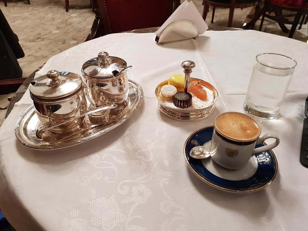 Coffee at the Alvear