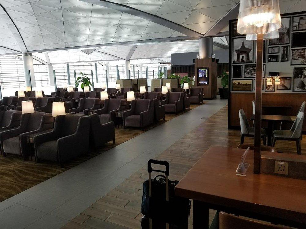 Phnom Phen Airport Lounge