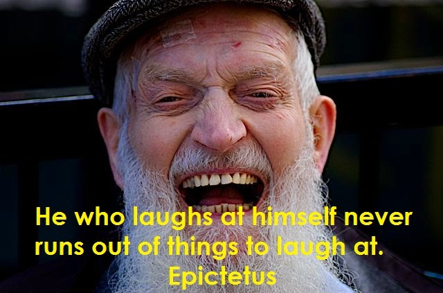 Another Epictetus quote worth taking to heart :-)