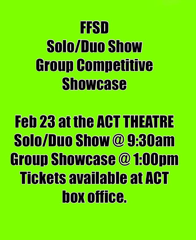 Come out and cheer on your fellow dancers and enjoy a great show!
