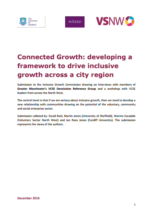 Connected Growth: developing a framework to drive inclusive