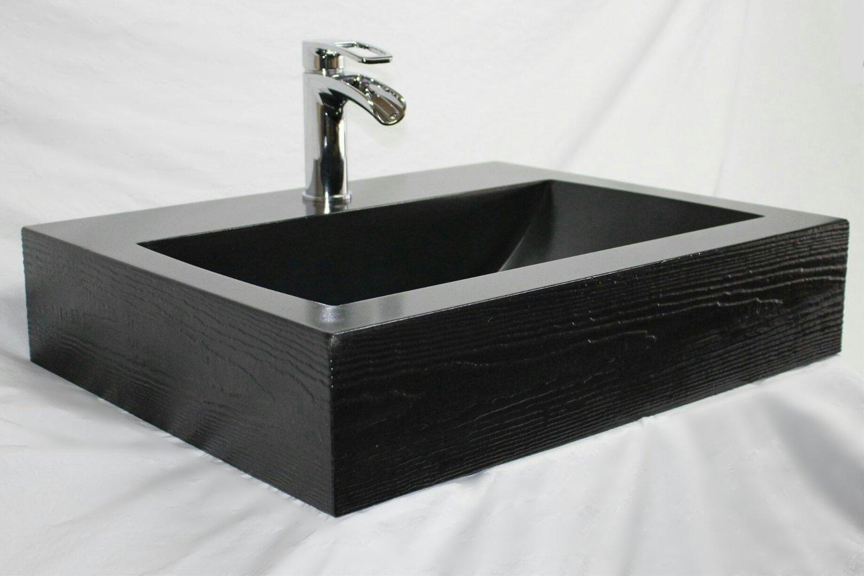 Barrel sink black floating jpg