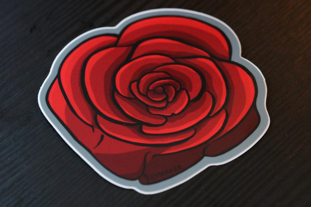 Keymaker Rose Sticker