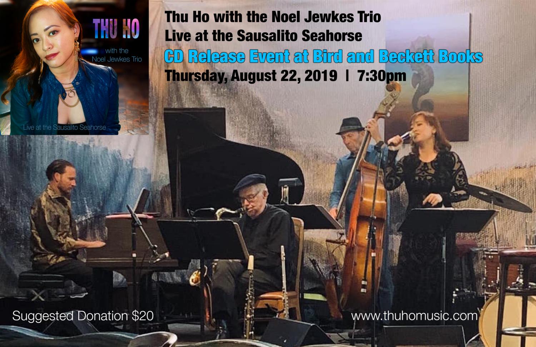 CD Release Event at Bird & Beckett Books — Thu Ho - Jazz