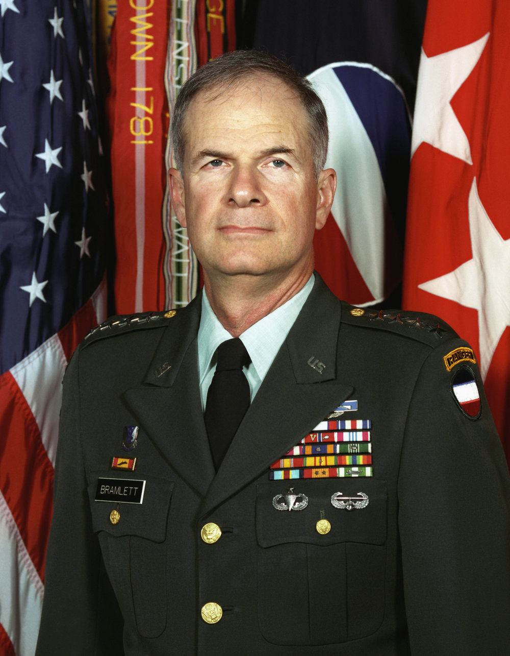 General (Ret.) David Bramlett (USMA '64), former Commander, U.S. Army Forces Command