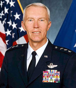 Lieutenant General (Ret.) Tad Oelstrom (USAFA '65), former Superintendent, U.S. Air Force Academy