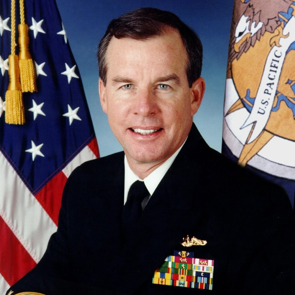 Admiral (Ret.) Tom Fargo (USNA '70), former Commander, United States Pacific Command