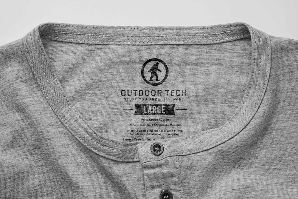 OUTDOOR TECH APPAREL LINE