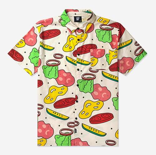 Lazy Oaf Ingredients shirt — Burgerac