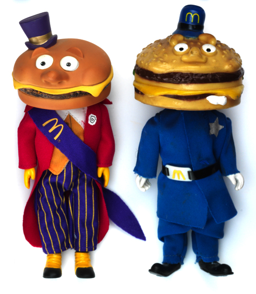 Rob Flowers And His Burger Toy Collection Burgerac