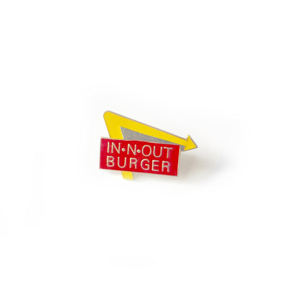 Vintage In-N-Out pin — Burgerac